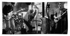 Coldplay 15 Hand Towel by Rafa Rivas