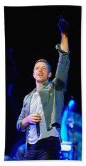 Coldplay8 Hand Towel by Rafa Rivas