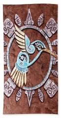 Colibri Hand Towel by J- J- Espinoza