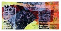 Collage No. 3 Bath Towel