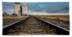 Collyer Tracks Hand Towel by Darren White