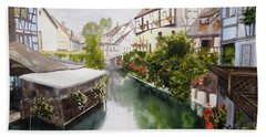 Colmar Canal Hand Towel