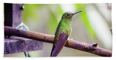 Colombian Hummingbird Hand Towel