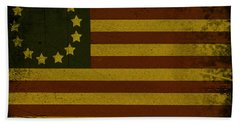 Colonial Flag Bath Towel