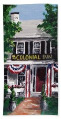 Colonial Inn Bath Towel