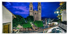 Colonial Town Of Taxco, Mexico Hand Towel
