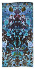 Color Abstraction Iv Hand Towel by David Gordon