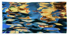 Color Abstraction Lxix Bath Towel by David Gordon