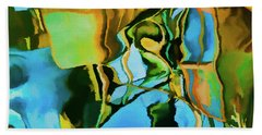 Color Abstraction Lxxiii Bath Towel by David Gordon