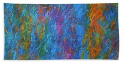 Color Abstraction Xiv Hand Towel by David Gordon