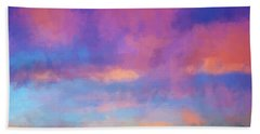 Color Abstraction Xlviii - Sunset Bath Towel