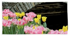 Color Along The Pond Hand Towel