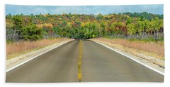 Color At Roads End Hand Towel