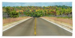 Color At Roads End Bath Towel