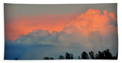 Hand Towel featuring the photograph Color Burst by AJ Schibig