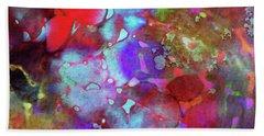 Color Burst Hand Towel by AugenWerk Susann Serfezi