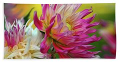 Color Burst Bath Towel by Patricia Strand