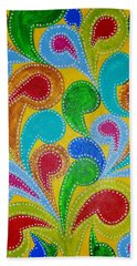 Color Explosion Hand Towel