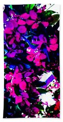 Color Me With Flowers Hand Towel