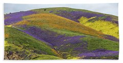 Bath Towel featuring the photograph Color Mountain I by Peter Tellone
