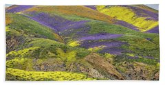 Hand Towel featuring the photograph Color Mountain II by Peter Tellone