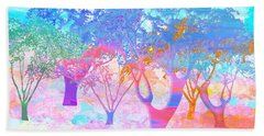 Color My World Hand Towel