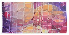 Color Odyssey Hand Towel by Nancy Jolley