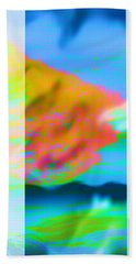 Color Wave Bath Towel