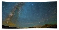 Hand Towel featuring the photograph Colorado Milky Way Kinda Night by James BO Insogna