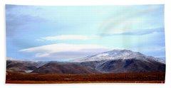 Colorado Mountain Vista Hand Towel