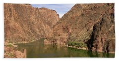 Colorado River, Grand Canyon Hand Towel