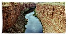 Colorado River Scenic Hand Towel