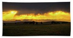 Colorado Sunset Bath Towel