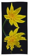Colorado Wildflower Hand Towel