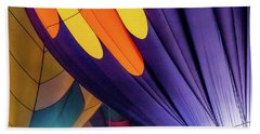 Colorful Abstract Hot Air Balloons Hand Towel