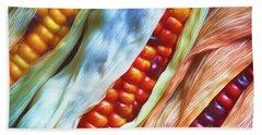 Colorful Corn 3 Bath Towel