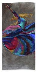 Colorful Dancer Bath Towel