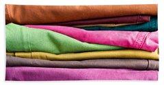 Colorful Denim Bath Towel