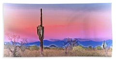 Colorful Desert Hand Towel