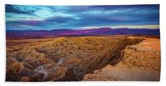 Colorful Desert Sunrise Bath Towel