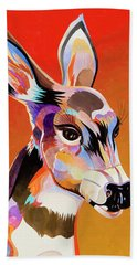 Colorful Doe Bath Towel