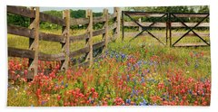 Colorful Gate Hand Towel