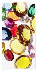 Colorful Gems Hand Towel