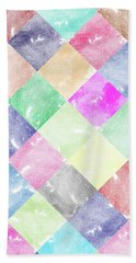 Colorful Geometric Patterns IIi Bath Towel