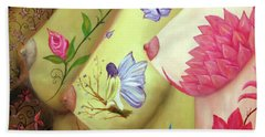Colorful Palette Hand Towel