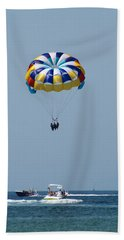 Colorful Parasailing Bath Towel