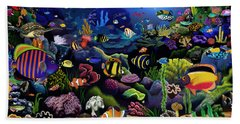 Colorful Reef Hand Towel