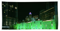 Bath Towel featuring the photograph Colorful Romare Bearden Park In Charlotte by Serge Skiba