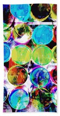 Colorful Spotty Abstract Bath Towel