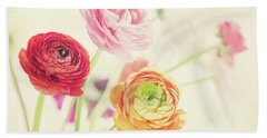Colorful Spring Hand Towel
